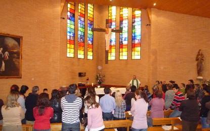 Con Jesús siempre en el centro